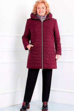 Куртка Асолия 3015 бордовый
