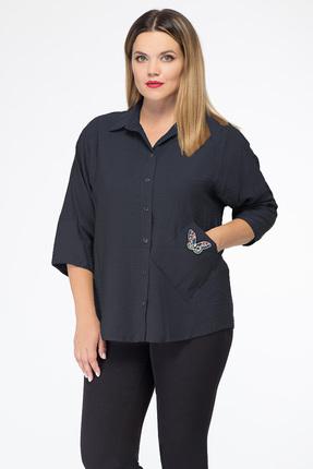 Рубашка Дали 5272 темно-синий