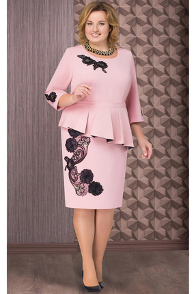 Платье Aira Style 509 розовый
