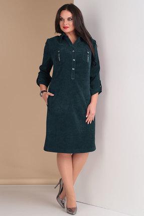 Платье Тэнси 258 темная бирюза