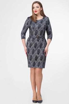 Платье Дали 520 серый