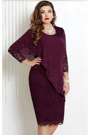 Платье Vittoria Queen 9073/5 ежевика