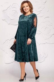 """Платье Ivelta plus 1619 """"изумруд"""""""