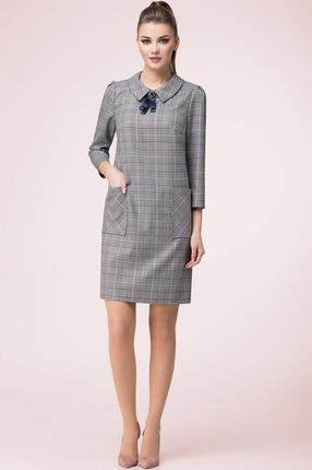 Платье LeNata 11989 серый