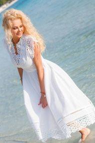 Платье Vesnaletto 1988 белый
