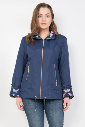 Куртка TricoTex Style 1547н темно-синий фото
