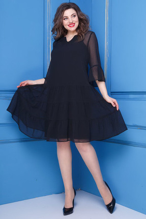 Платье Anastasia 251 черные тона