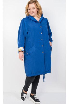 Плащ TricoTex Style 1905 синий фото