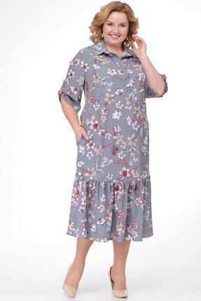 Платье KetisBel 1450 серые тона