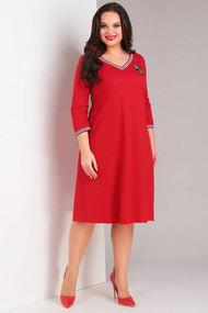 Платье Милора-Стиль 698 красный