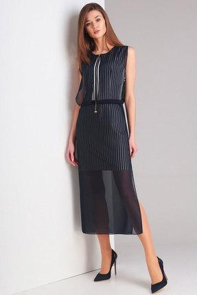 Платье Милора-Стиль 535 синий