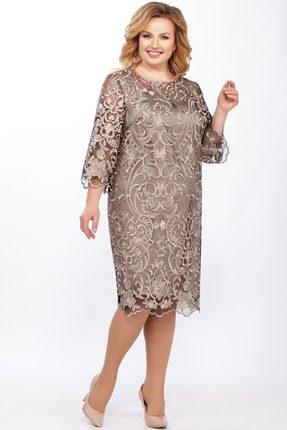 Платье LaKona 969 золотой