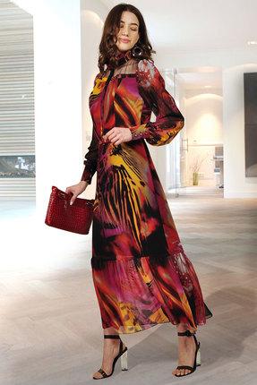 Платье Миа Мода 1015-6 красный