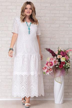 Платье Aira Style 677 белый