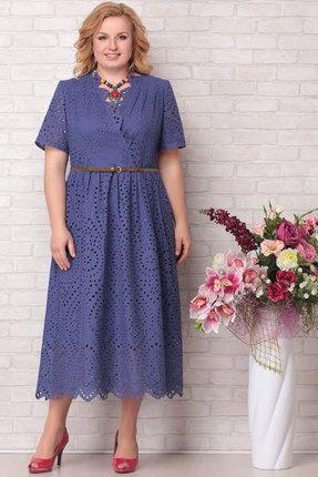 Платье Aira Style 681 синий фото