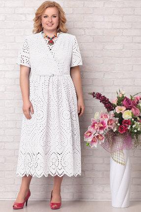 Платье Aira Style 681 белый