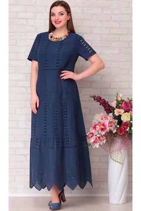 Платье Aira Style 683 синий