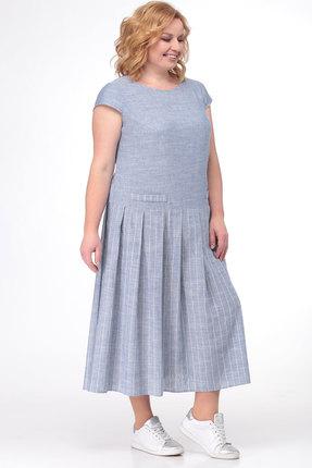 Платье KetisBel 1459 голубой