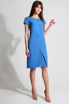 Платье Axxa 55057б синий