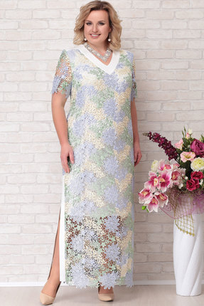 Платье Aira Style 687 мультиколор