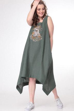 Платье MALI 4107 малахит фото