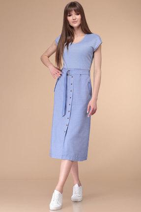 Платье Линия-Л Б-1733 голубой фото