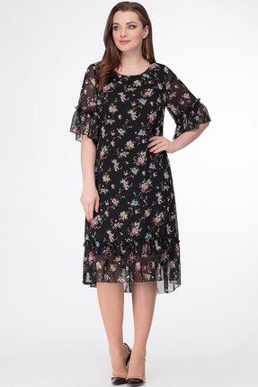 Платье Дали 5408 черный фото