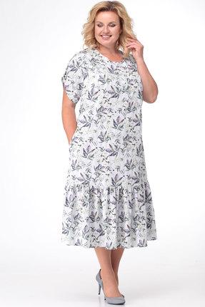 Платье KetisBel 1464 молочные тона