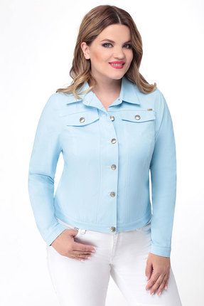 Жакет Дали 5254 голубой фото