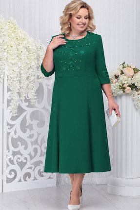 Платье Ninele 2210 изумруд