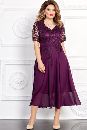 Платье Mira Fashion 4653 слива