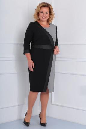Платье Диамант 1459 черный