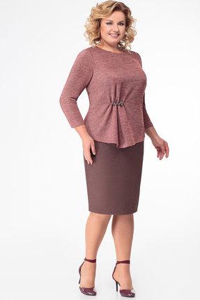 Комплект юбочный KetisBel 2452 розовые тона