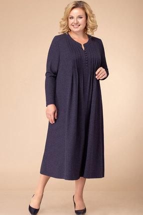Платье Линия-Л Б-1744 синий