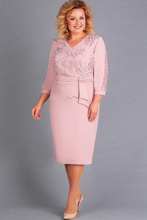 Платье Асолия 2436 пудра