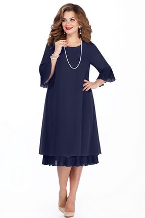 Платье TEZA 250 темно-синий