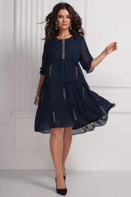 Платье Solomeya Lux 608 темно-синий