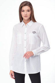 Рубашка Lady Three Stars 1951 белый