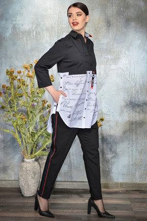 Блузка Anna Majewska А373 черный