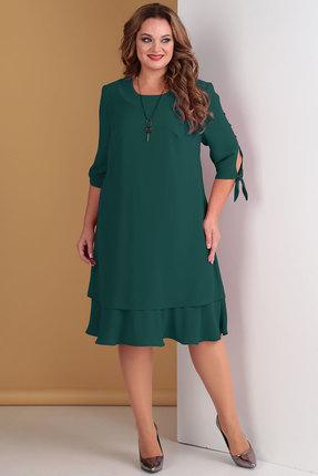 Платье Тэнси 274 зеленый