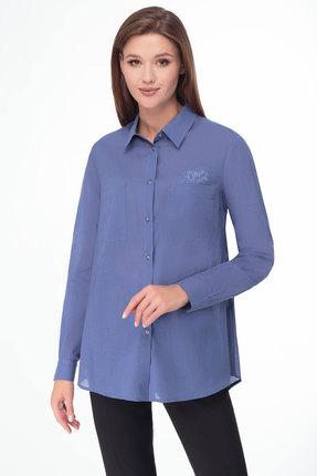 Рубашка Lady Three Stars 1951 голубой