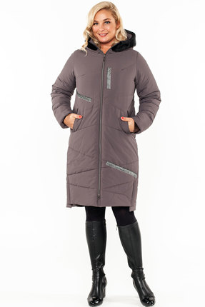 Пальто Bugalux 928 серый