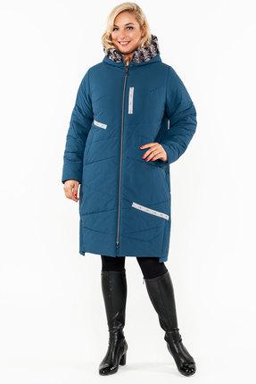 Пальто Bugalux 928а изумрудный