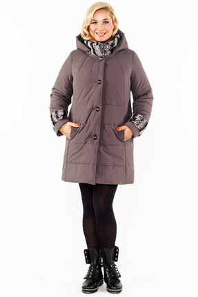 Пальто Bugalux 438 серый