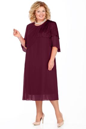Платье Pretty 924 баклажан