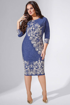 Платье Avanti Erika 886-4 синий