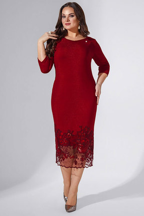 Платье Avanti Erika 897-1  бордо