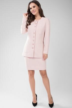 Комплект юбочный Teffi style 1434 светло-розовые тона фото