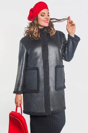 Пальто Elletto 3358 черный