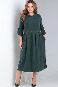 Платье Ришелье 694.3 зелёный